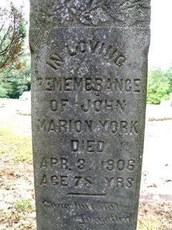 John Marion York