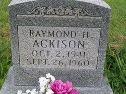 Raymond H Ackison