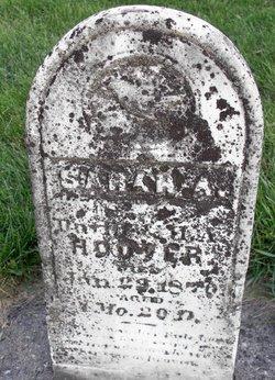 Sarah A Hoover