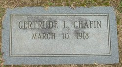 Gertrude L Chafin