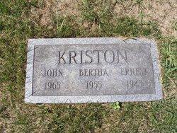 Bertha <i>Vizi</i> Kriston