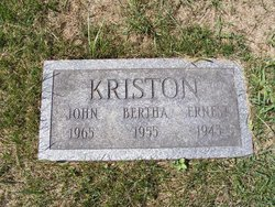 John James Kriston, Sr