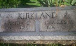 Martha E. <i>Green</i> Kirkland