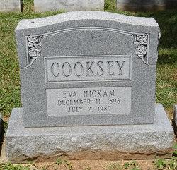 Eva <i>Hickam</i> Cooksey