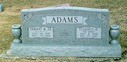 Florence Mina Hulda <i>Durst</i> Adams