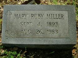 Mary Ruby <i>Porter</i> Miller