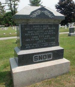 Mary L <i>Seavey</i> Snow