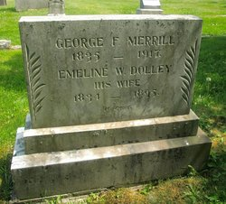 Emeline W <i>Dolley</i> Merrill