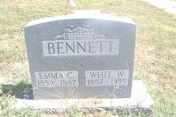 Emma Catherine <i>Wesner</i> Bennett
