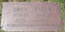 Orra Christopher Faler