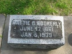 Mattie C. <i>Roberts</i> Cookerly