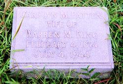 Carolyn M <i>Patten</i> King