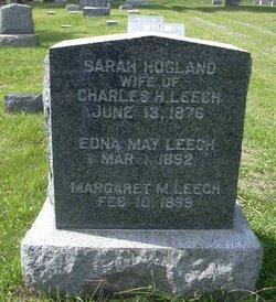 Sarah Ann Sallie <i>Hoagland</i> Leech