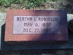 Bertha Leone <i>Dollar</i> Robinson