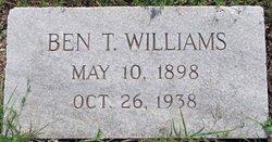 Benjamin Tucker Bt Williams, III
