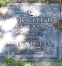 Marjorie L Archer