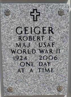 Maj Robert E. Geiger