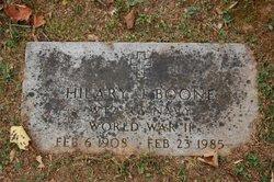 Hilary J Boone