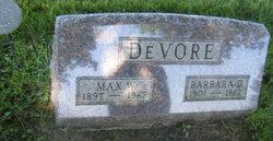 Barbara D DeVore