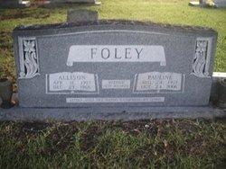 Lura Pauline <i>Carter</i> Foley