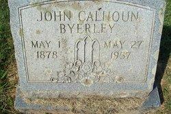 John Calhoun Byerley