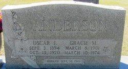 Gracie May <i>Gilmore</i> Anderson