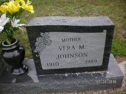 Vera M Johnson