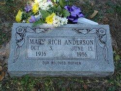 Mary Larue <i>Rich</i> Anderson