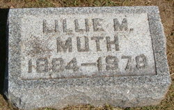 Lillie May <i>Betz</i> Muth