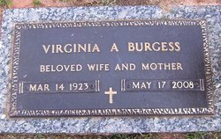 Virginia Allene <i>Hicks</i> Burgess
