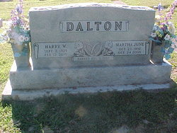 Martha June <i>Robnett</i> Dalton