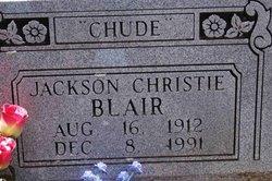 Jackson Christie Chude Blair