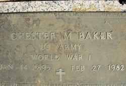 Chester Chet M Baker