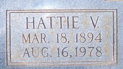 Hattie Virginia <i>Beckom</i> Easley