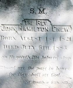 Rev John Hamilton Chew