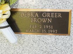 Debra <i>Greer</i> Brown