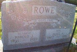 Harold J. Rowe