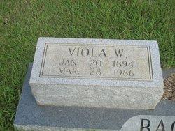 Viola <i>Westmoreland</i> Bagwell