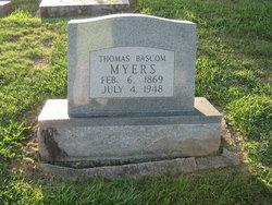 Thomas Bascomb Myers