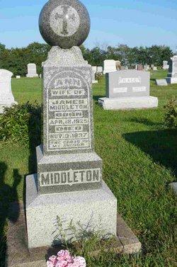 Ann <i>Higgans</i> Middleton