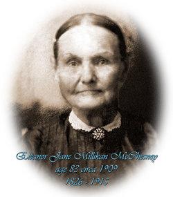 Eleanor Jane Grandma Jane <i>Millikan</i> McChesney