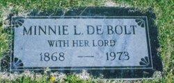 Minnie L <i>Baird</i> De Bolt