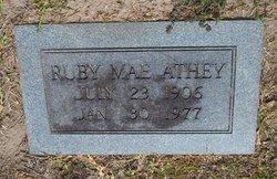 Ruby Mae <i>Collins</i> Athey