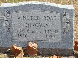 Winifred Rose Rose <i>O'Brien</i> Donovan