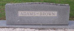 Lillian May <i>Brown</i> Adams