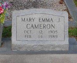 Mary Emma <i>Johnson</i> Cameron
