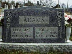 Ella Mae <i>Shelley</i> Adams