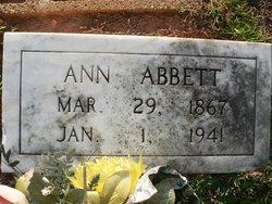 Ann Abbett