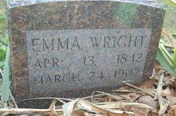 Emily Emma <i>Miller</i> Bray Wright
