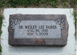 Dr Wesley Lee Faires